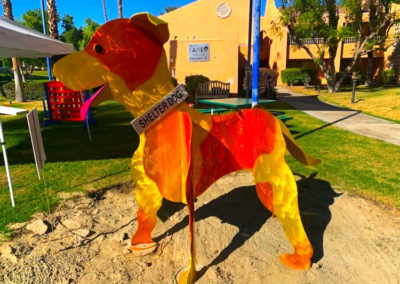 SHELTER DOG, Westin Mission Hills Golf Resort & Spa, Rancho Mirage, CA